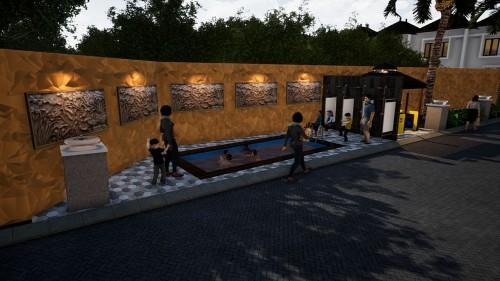 kolam renang anak (kids pool)